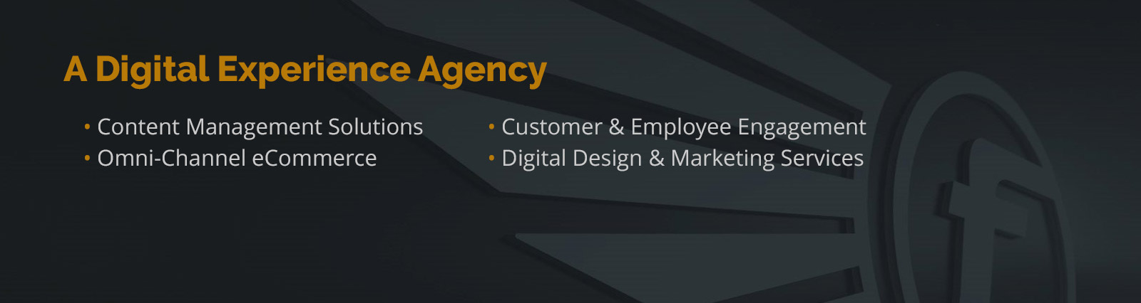 A Digital Experience Agency