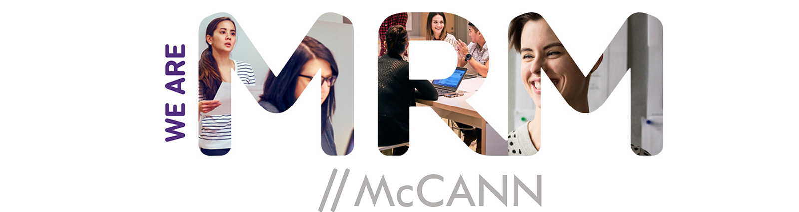 We Are MRM // McCann customer relationship agency logo