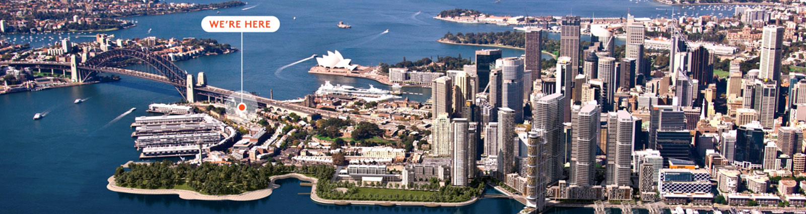 Sitback are located in The Rocks, Sydney