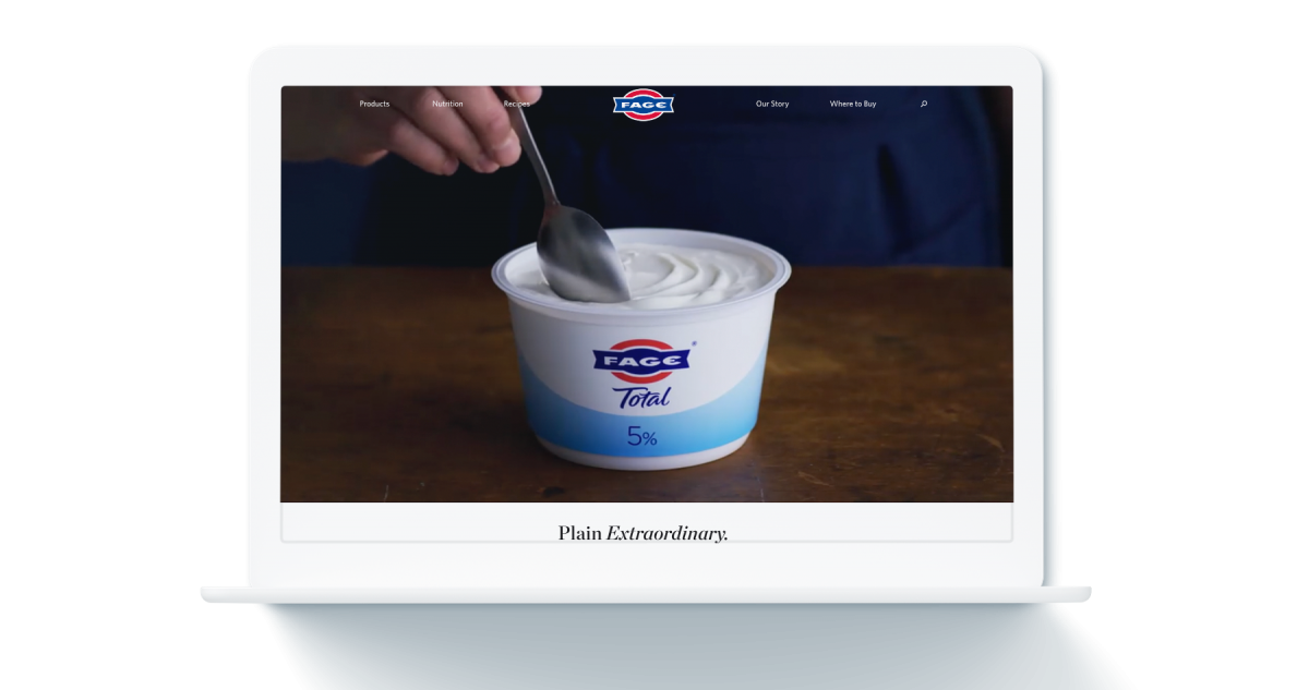 FAGE homepage on computer screen
